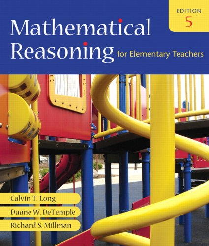 9780321460844: Mathematical Reasoning for Elementary Teachers (5th Edition)