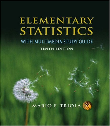 9780321460929: Elementary Statistics
