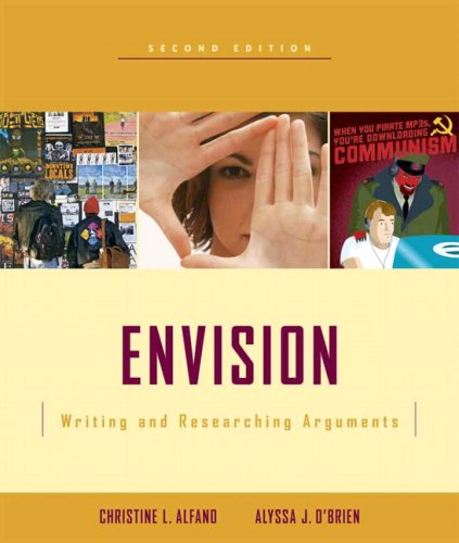 9780321462510: Envision: Writing and Researching Arguments (2nd Edition)