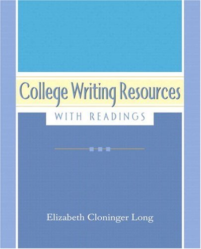 9780321462879: College Writing Resources with Readings (with MyWritingLab Student Access Code Card)