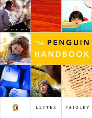 9780321465139: Penguin Handbook (paperbound), The (with Essential Study Card for Grammar and Documentation) (2nd Edition)