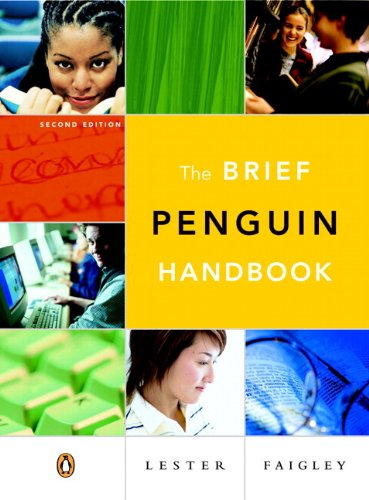 9780321465146: Brief Penguin Handbook, The (with Essential Study Card for Grammar and Documentation) (2nd Edition)