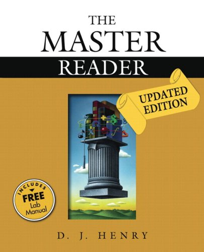 Master Reader, The, Updated Edition (with Study Card for Vocabulary): D.J. Henry