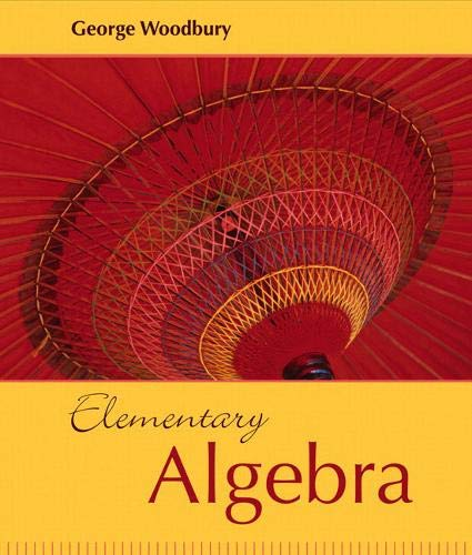 9780321467577: Elementary Algebra