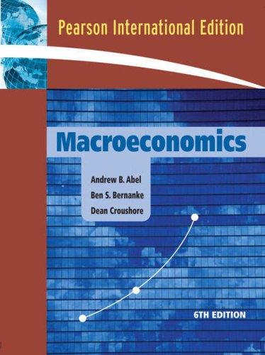Macroeconomics: Andrew B. Abel