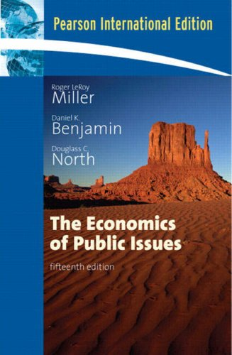 9780321469618: The Economics of Public Issues