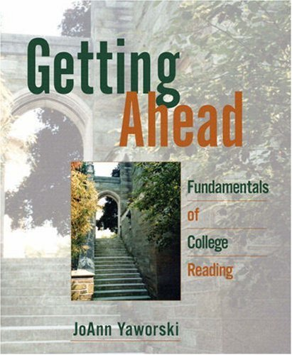 9780321471642: Getting Ahead: Fundamentals of College Reading (with MyReadingLab)