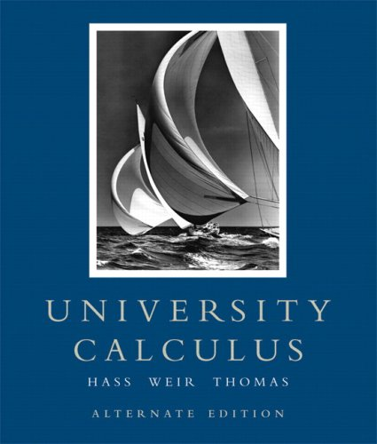 9780321471963: University Calculus: Alternate Edition