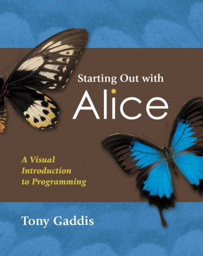9780321475152: Starting Out with Alice: A Visual Introduction to Programming