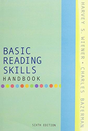 9780321477064: Basic Reading Skills Handbook [With Dictionary]