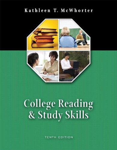 9780321478634: College Reading and Study Skills (with MyReadingLab) (10th Edition)