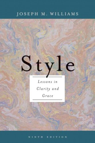 9780321479358: Style: Lessons in Clarity and Grace (9th Edition)