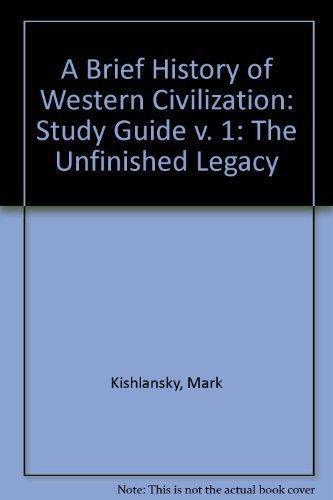 Study Guide to Accompany Brief History of: Mark Kishlansky, Patrick