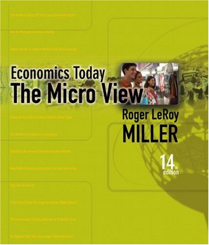 9780321481412: Student Value Edition for Economics Today: The Micro Viewplus MyEconLab in CourseCompass plus eBook Student Access Kit (14th Edition)