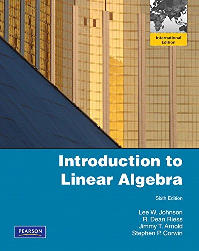 9780321484505: Introduction to Linear Algebra: International Edition