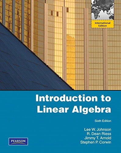 9780321484505: Introduction to Linear Algebra: International Edition