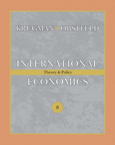 9780321488831: International Economics: Theory and Policy plus MyEconLab plus eText 1-semester Student Access Kit (8th Edition)