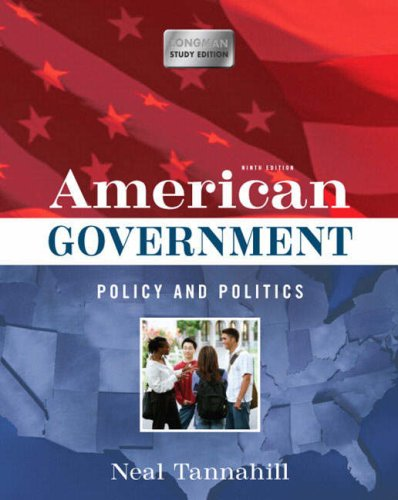 9780321489159: American Government: Policy and Politics (Longman Study Edition) (9th Edition)