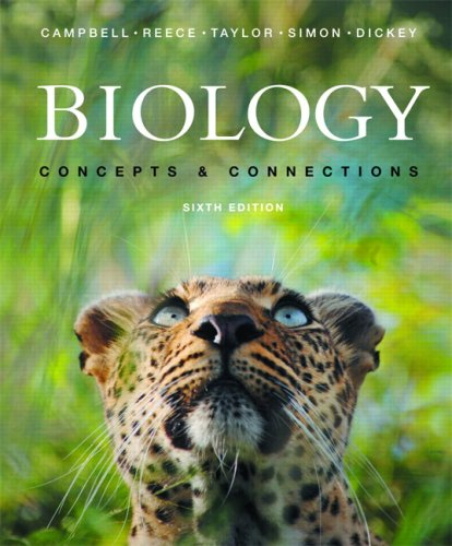 9780321489845: Biology: Concepts and Connections