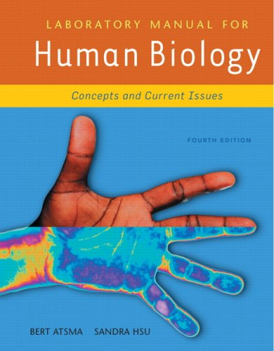 9780321490117: Laboratory Manual for Human Biology (4th Edition)