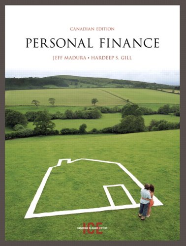 9780321491978: Personal Finance, Canadian Edition, In-Class Edition