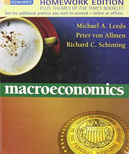 9780321492937: Macroeconomics Themes of The Times Homework Edition