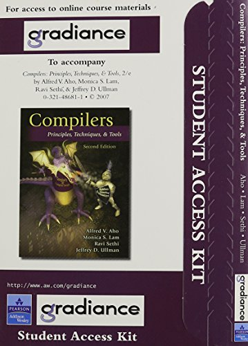 9780321493026: Compilers: Principles, Techniques and Tools