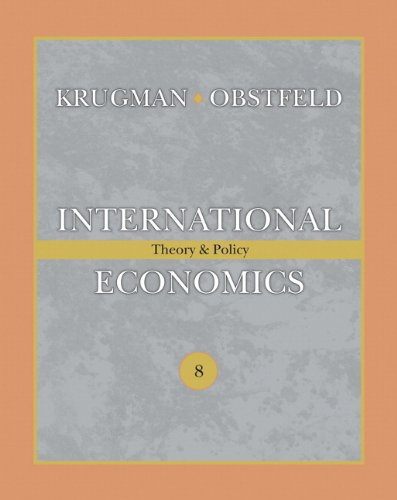 9780321493040: International Economics: Theory & Policy: Theory and Policy (Addison-Wesley Series in Economics)