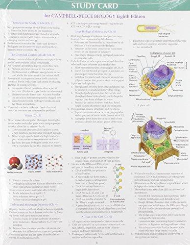 Study Card for Biology: Benjamin-Cummings Publishing Company,
