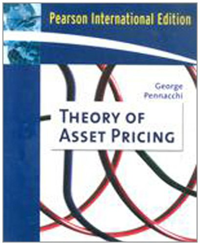 9780321495365: Theory of Asset Pricing (Addison-Wesley Series in Finance)