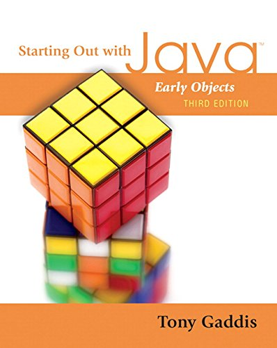 9780321497680: Starting Out with Java: Early Objects (3rd Edition)