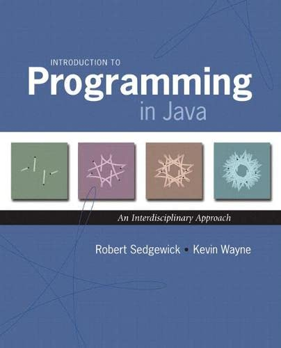 9780321498052: Introduction to Programming in Java: An Interdisciplinary Approach