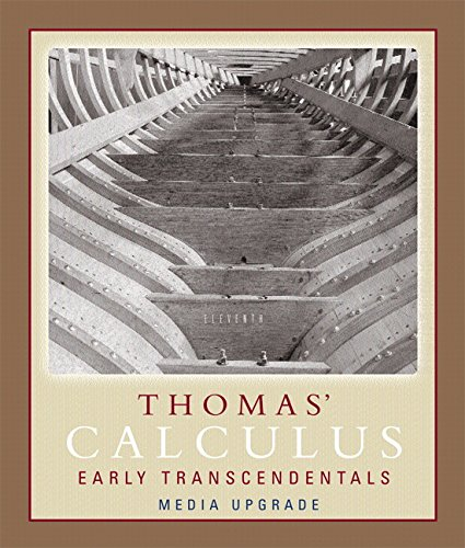 9780321498748: Thomas' Calculus, Early Transcendentals, Media Upgrade, Part One (11th Edition) (Pt. 1)