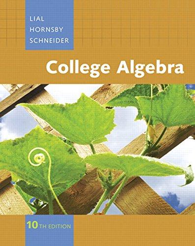 9780321499134: College Algebra, 10th Edition