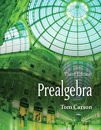 9780321499936: Prealgebra, Third Edition