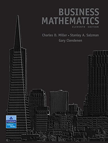 9780321500120: Business Mathematics (11th Edition)
