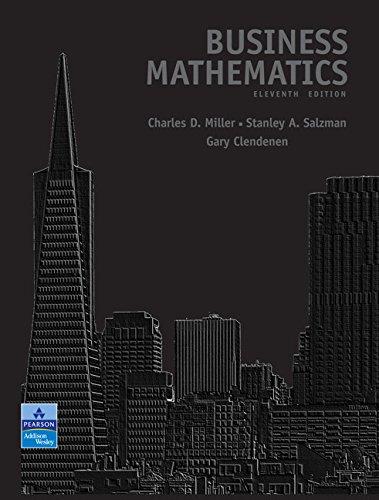 9780321500120: Business Mathematics (11th Edition)