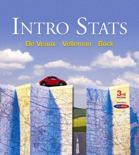 9780321500458: Intro Stats (3rd Edition)