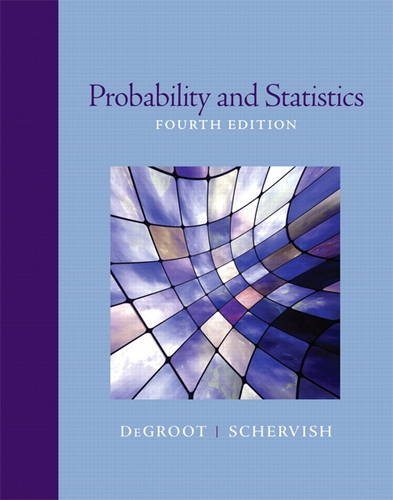 9780321500465: Probability and Statistics (4th Edition)