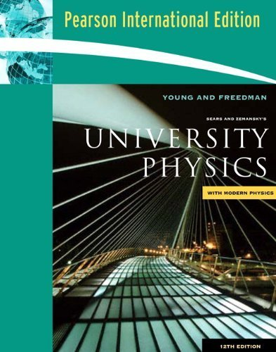 9780321501301: Sears and Zemansky's University Physics