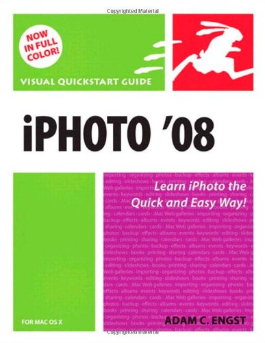 9780321501882: iPhoto 08 for Mac OS X: Visual QuickStart Guide