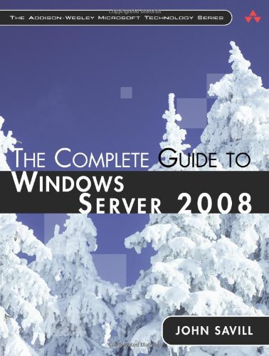 9780321502728: The Complete Guide to Windows Server 2008 (Addison-Wesley Microsoft Technology)