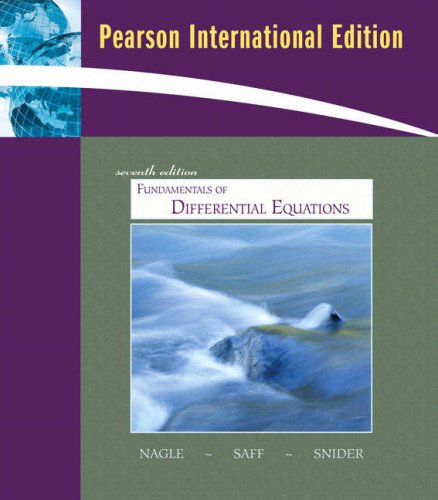 9780321504777: Fundamentals of Differential Equations bound with IDE CD (Saleable Package): International Edition