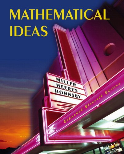 9780321505767: Mathematical Ideas Expanded Edition plus MyMathLab Student Access Kit (11th Edition)