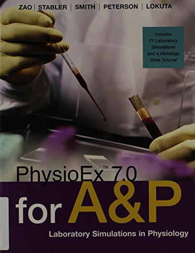 9780321507075: PhysioEX 7.0 for A & P: Lab Simulations in Physiology