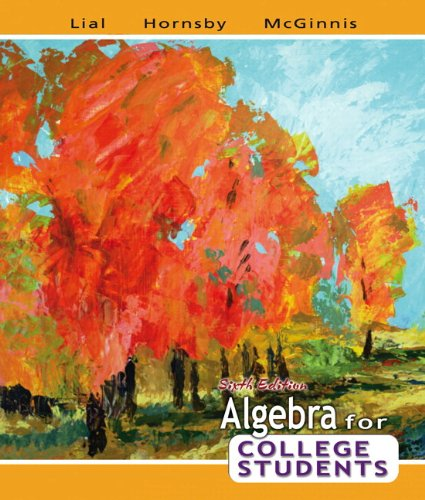 9780321507198: Algebra for College Students plus MyMathLab Student Access Kit (6th Edition)