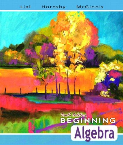 9780321507204: Beginning Algebra plus MyMathLab Student Starter Kit (10th Edition)