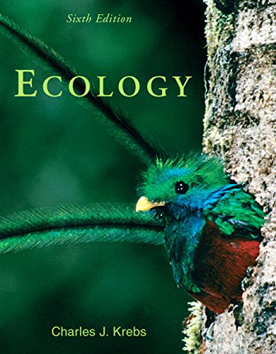 Ecology: The Experimental Analysis of Distribution and: Krebs, Charles J.