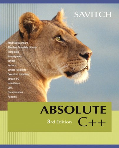 9780321508850: Absolute C++ Value Package (includes MyCodemate Student Access Kit)