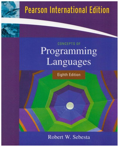 9780321509680: Concepts of Programming Languages: International Edition